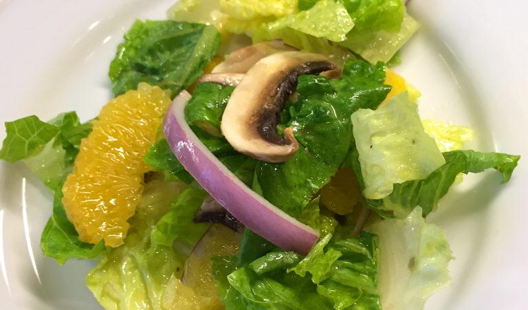 Mushroom and Orange Salad with Cumin Vinaigrette