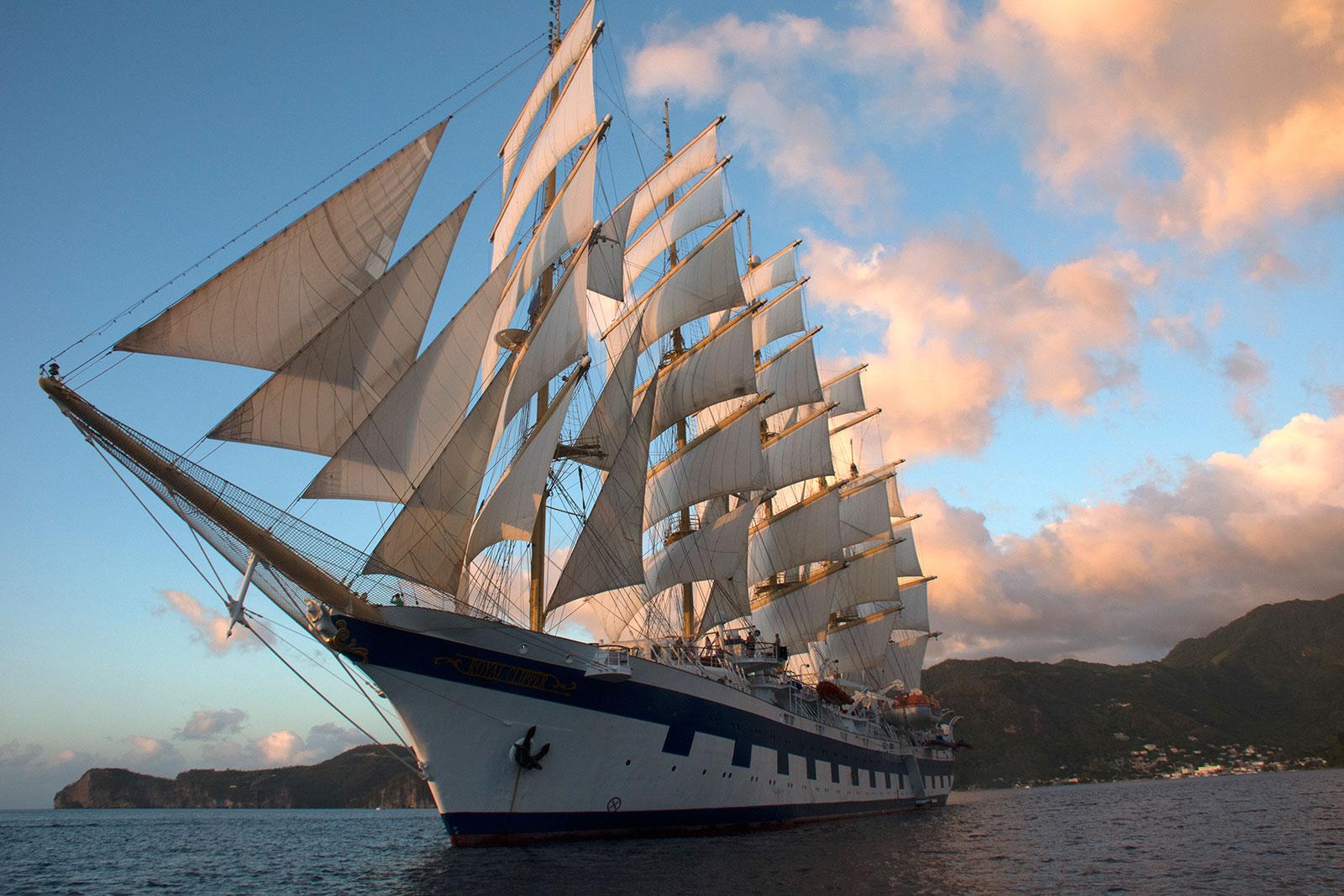 Onboard The Royal Clipper Ann Cavitt Fisher