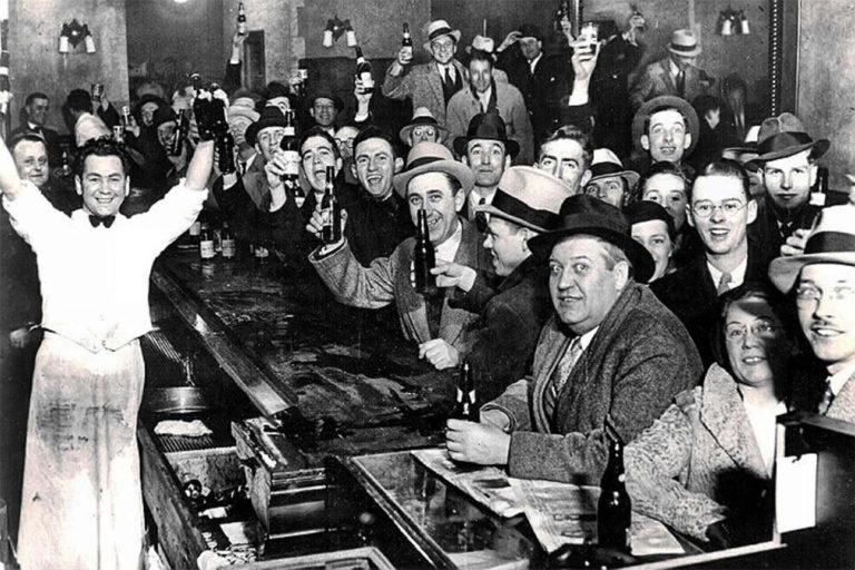 Prohibition ends on December 5, 1933!